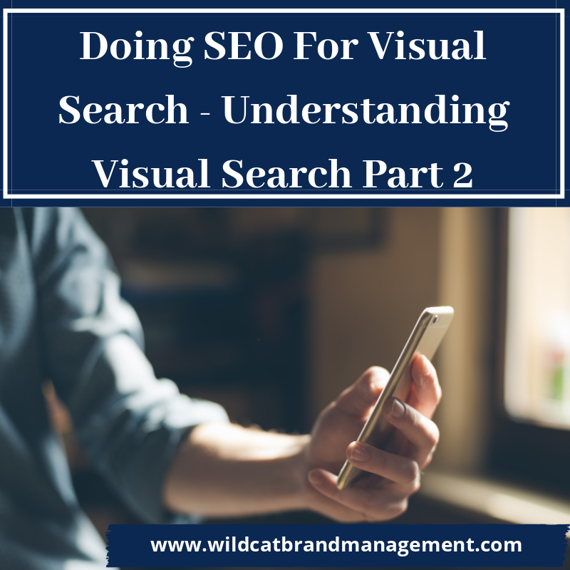 Doing SEO For Visual Search - Understanding Visual Search Part 2