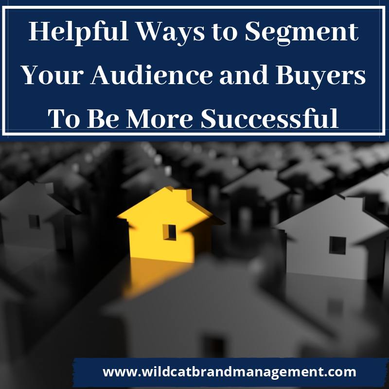 Helpful Ways to Segment Your Audience and Buyers To Be More Successful
